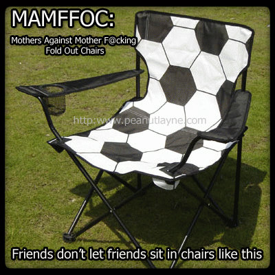 Soccer Mom Covered Chairs Outdoor Swivel Dining Life On Peanut Layne What S The Opposite Of A Me Week 2