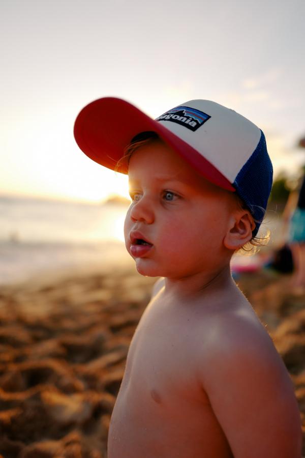 Patagonia kids' hat