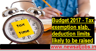 Budget-2017-Tax-exemption-slab-deduction-limits-to-be-raised