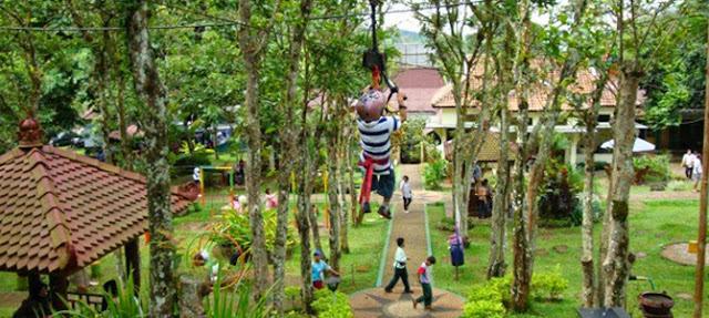 8 Rekomendasi Lokasi di Outbound Terbaik di Jawa Tengah