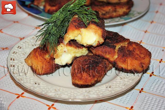 рецепт картофельных крокетов с моцареллой