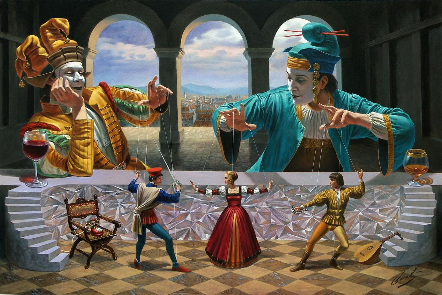 Michael Cheval Art of Diplomacy