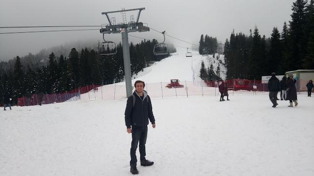 Harun İstenci Kastamonu'da Ilgaz Kayak Merkezinde - Ilgaz Dağı, Aralık 2018