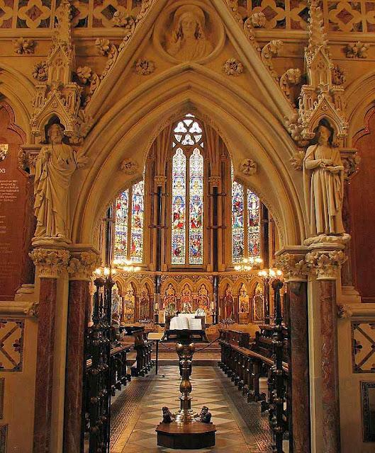 Capela do Colégio Universitário de Exeter, Inglaterra