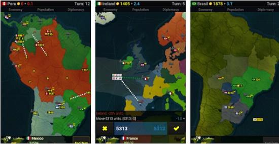 game Android yang menyusun strategi perang