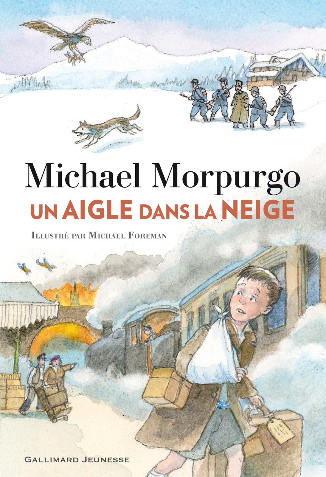 Sous le feuillage un aigle dans la neige - Lincroyable maison book tower londres ...