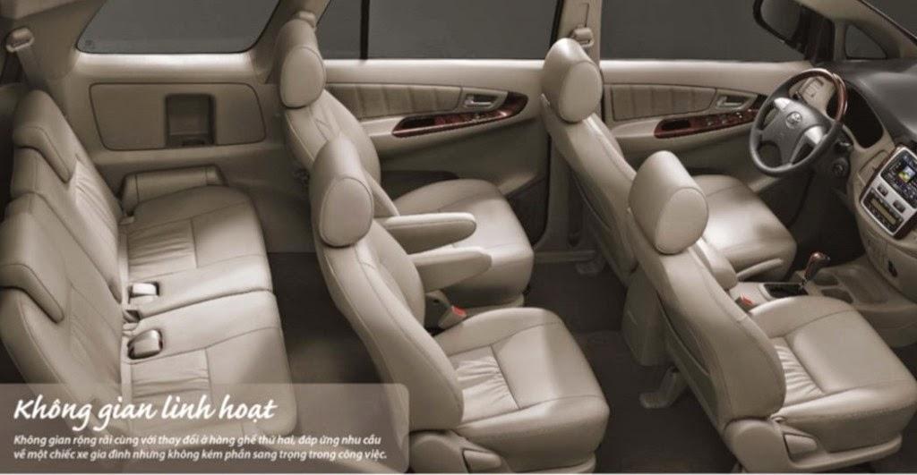toyota innova toyota tan cang 3 1024x531 -  - So sánh Toyota Innova và KIA Rondo : Đĩnh đạc và trẻ trung