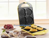 Logo Vinci gratis una meravigliosa piastra per Waffle + pacco colazione Verival Bio
