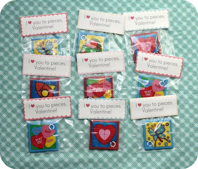 Printable Puzzle Valentines @michellepaigeblogs.com