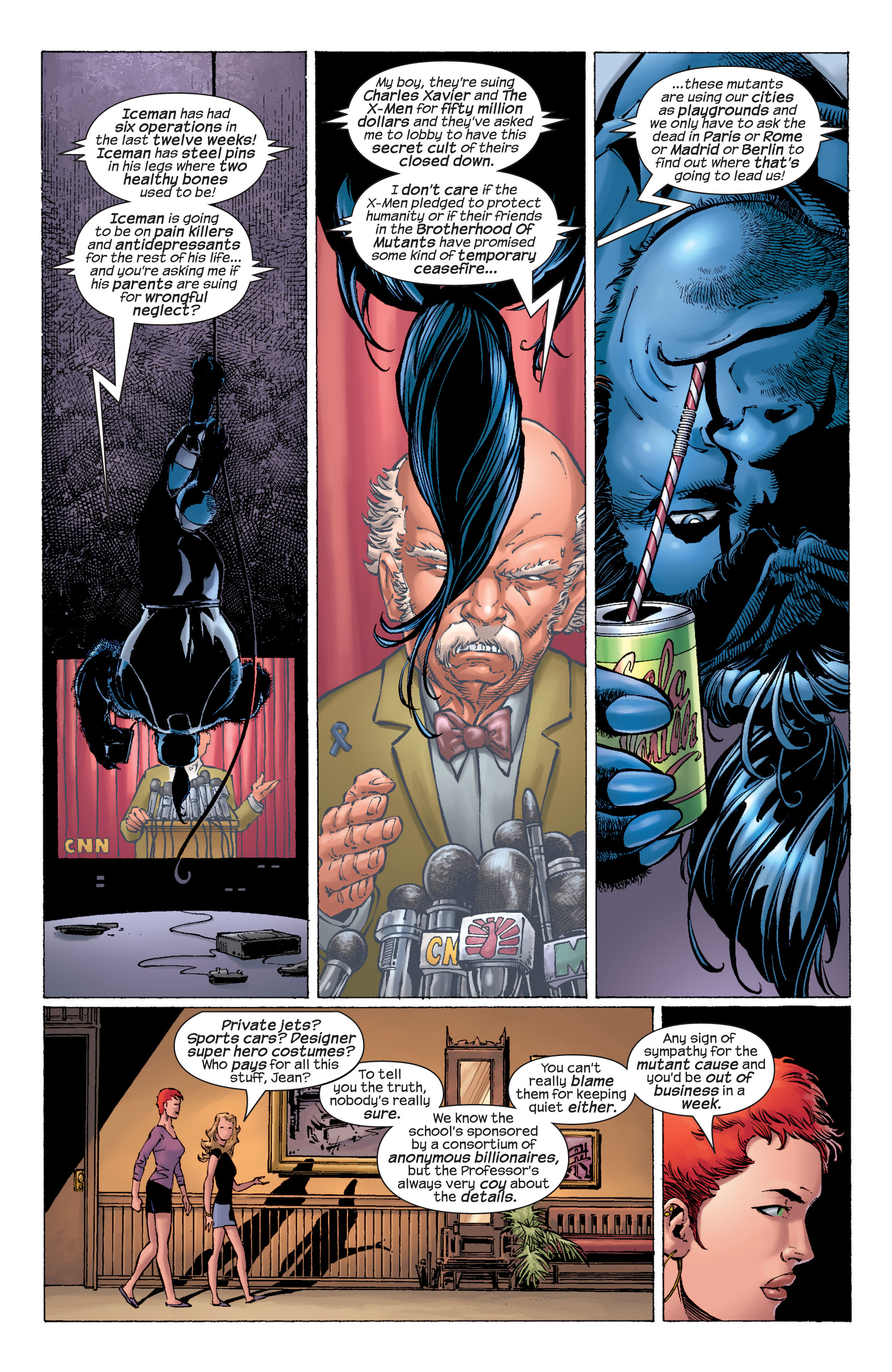 Read online Ultimate X-Men comic -  Issue #21 - 13