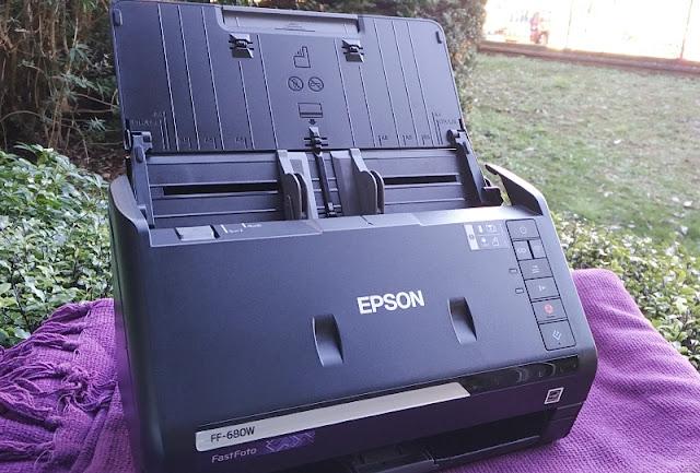 Epson Fastfoto Ff-680W Sheetfed Portable Wifi Scanner