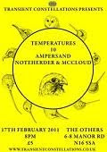 TEMPERATURES / 10 / AMPERSAND / NOTEHERDER & MCCLOUD