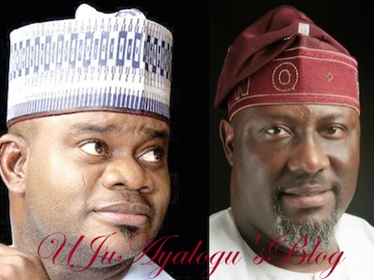 Kogi Governor, Yahaya Bello Warns Dino Melaye After Protest Turned Bloody