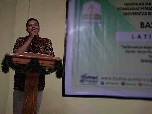 HMI Komisariat Persiapan FEBI UIN Ar-Raniry Gelar Basic Training
