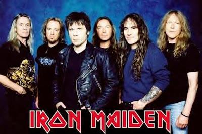 10 Lagu Heavy Metal Terbaik Iron Maiden