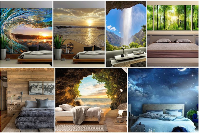 13 The Most Beautiful Decorations Of Bedrooms Inspired By Nature