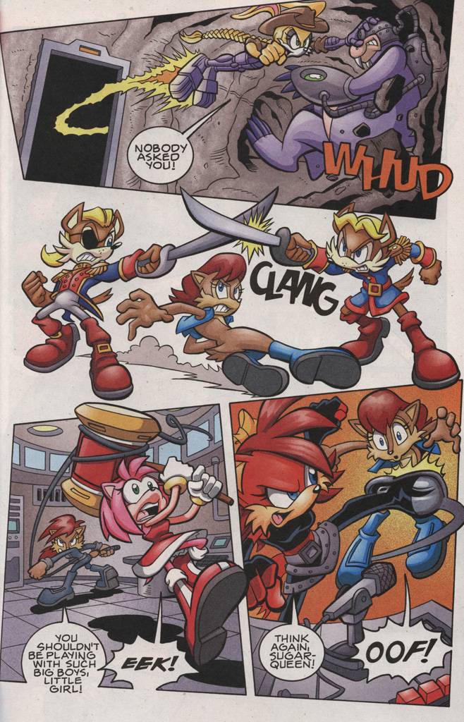 Read online Sonic The Hedgehog comic -  Issue #189 - 23