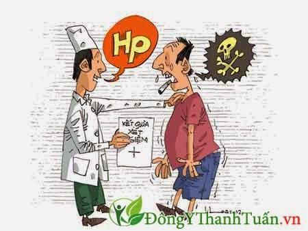 Vi trùng HP - Nguyên nhân bệnh viêm loét dạ dày tá tràng