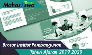 brosur institut pembangunan surabaya 2019