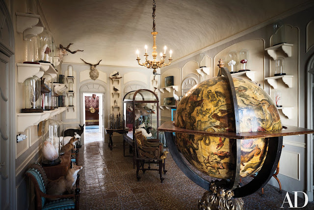 Sicilian Palace Lorenzo Castelluccio, Italy