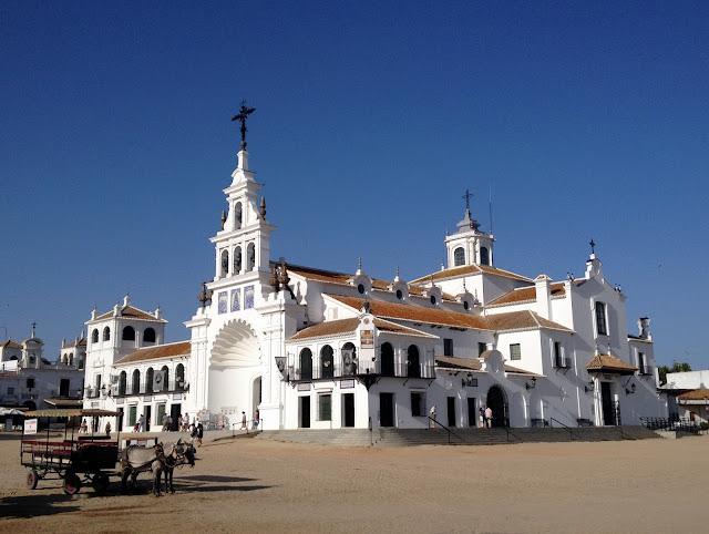 La aldea del Rocío en Huelva