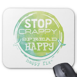 Stop Crappy, Spread Happy with Happy Fix, America's Happiest Startup :-)