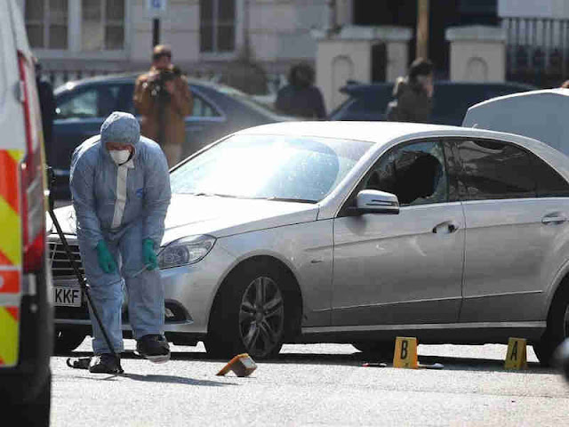 Polisi London Amankan Pria 40 Tahun Penyerang Kedubes Ukraina untuk Inggris di Kensington