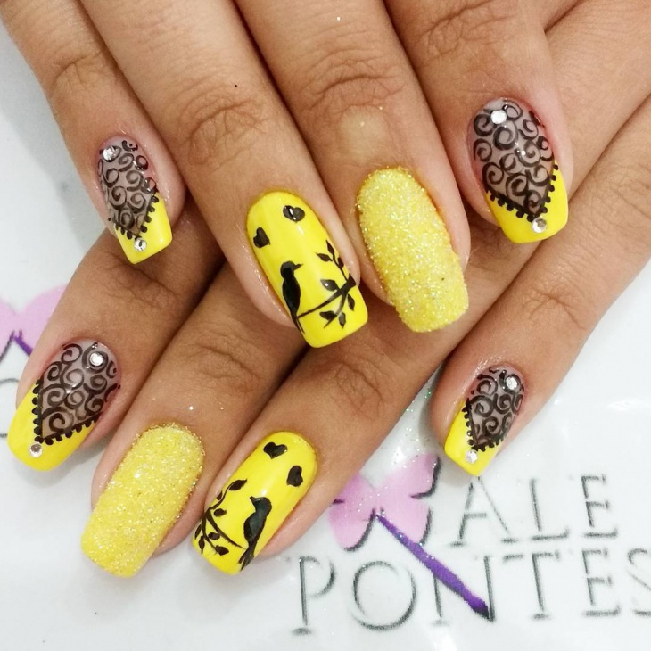 Yellow nails!