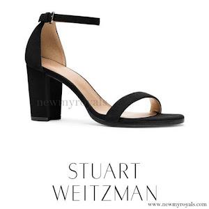 Princess Charlene style - wore Stuart Weitzman Sandal