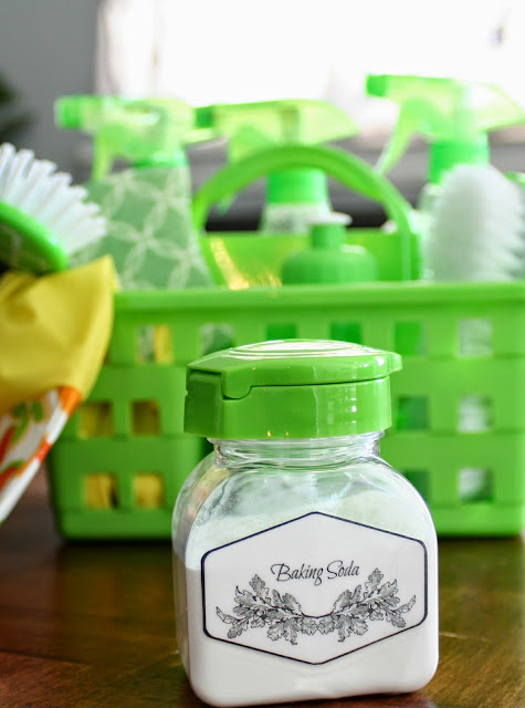 Add baking soda to your diy cleaning kit for the new year