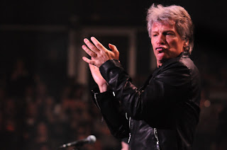 Bon Jovi at United Center Chicago March 26, 2016 (credit Adam Bielawski)