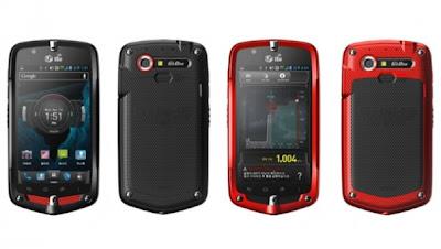 NEC Casio G'Zone CA-201L, Smartphone Canggih besutan LG