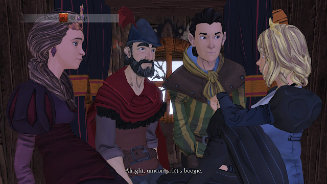 Screenshot from King's Quest (2015)