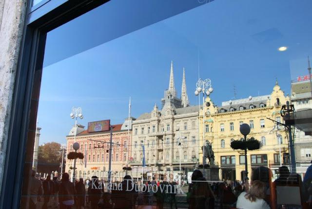 Plaza principal de Zagreb, Croacia