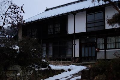 長野県生坂村の古民家カフェ 雪のひとつ石 母屋