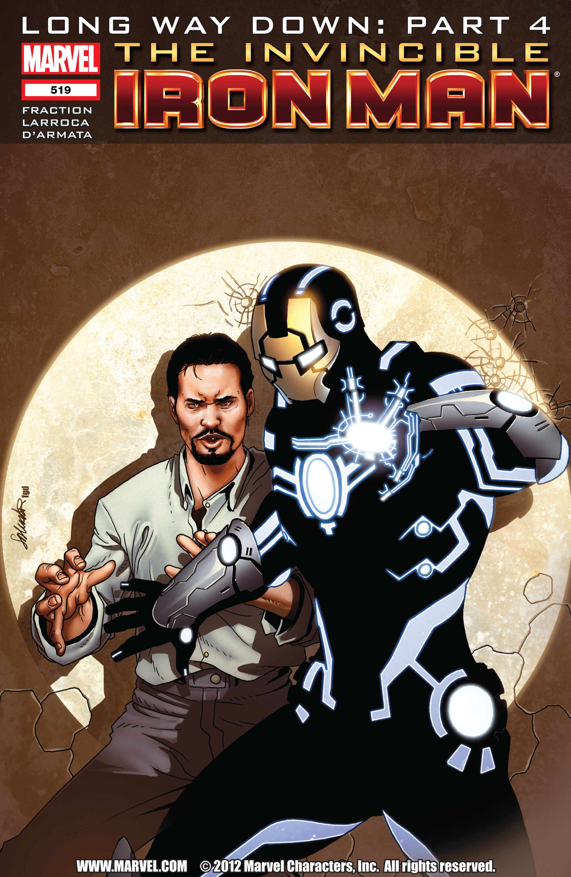 Invincible Iron Man (2008) 519 Page 1