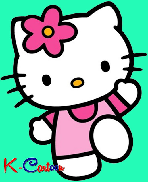 hallo kitty cartoon