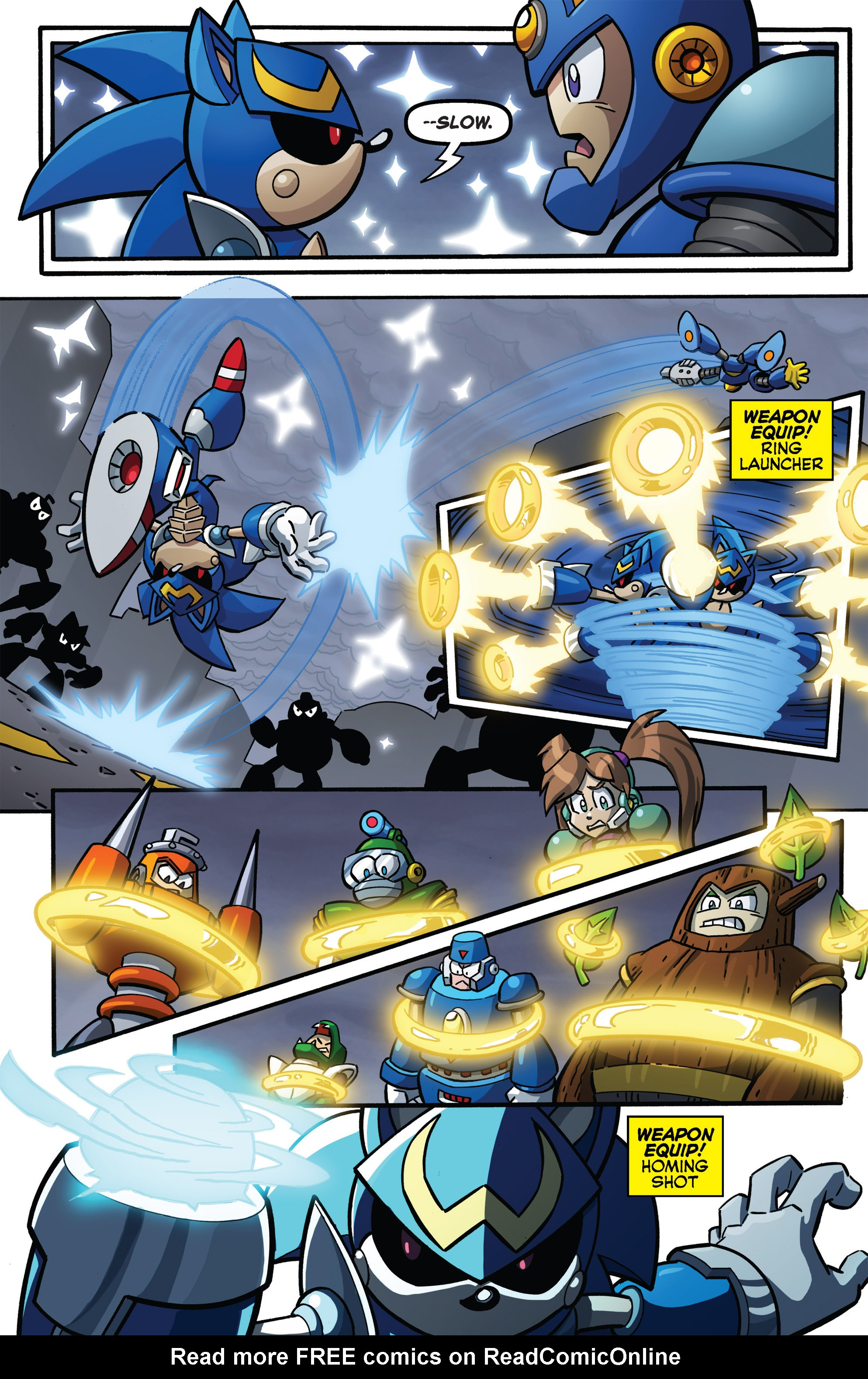 Read online Sonic The Hedgehog comic -  Issue #273 - 11