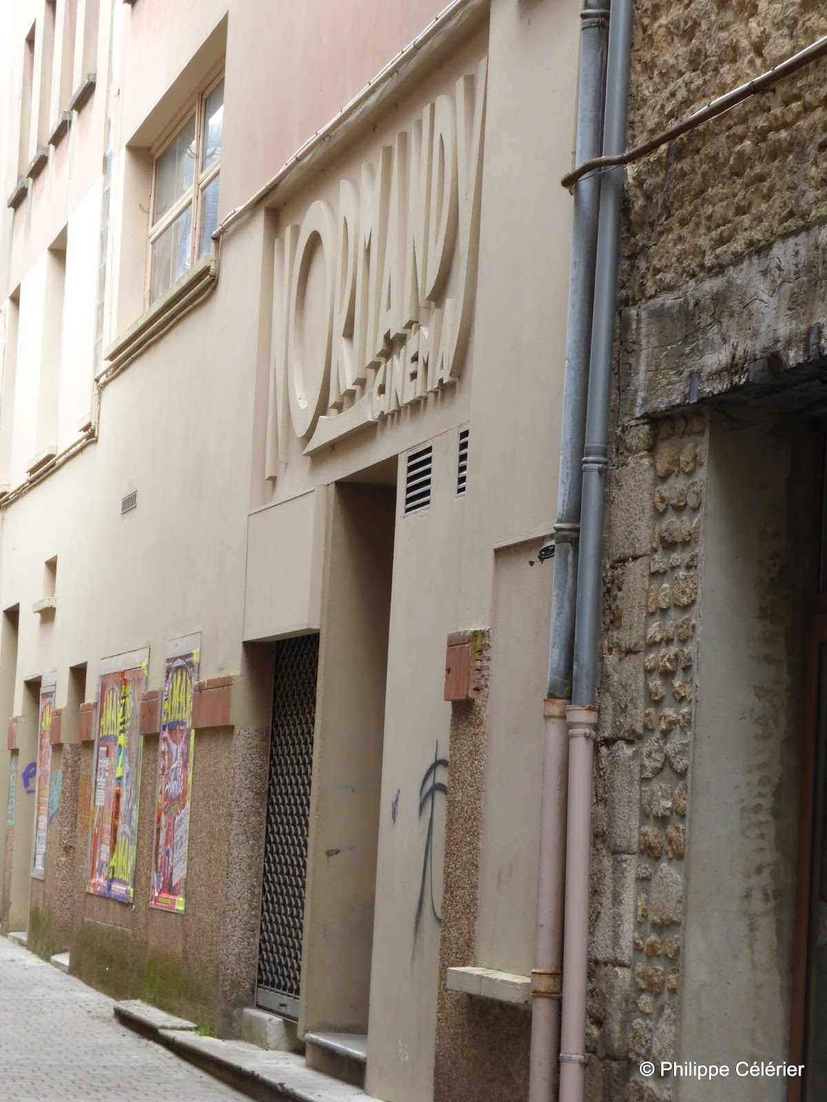 Ciné-Façades: 4 Normandy (Alençon - 61) / Compléments