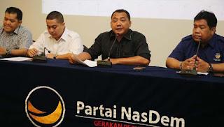 Anggota Badan Hukum NasDem Laporkan Jonru Ginting