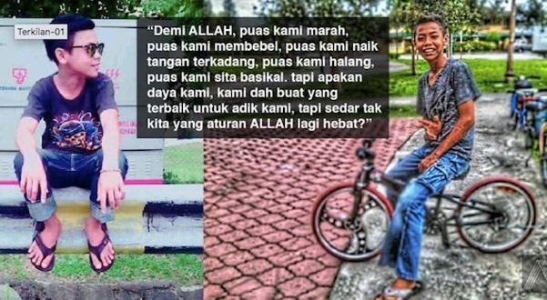 TERKINI. Inilah Luahan SAYU Kakak Mangsa Tragedi Basikal Yg Buat Ramai TERPANA !!!