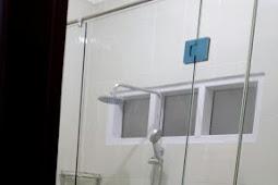 Repeat Order Bpk Aditya Pemasangan Pintu Kaca Tempered Kamar Mandi 10 mm