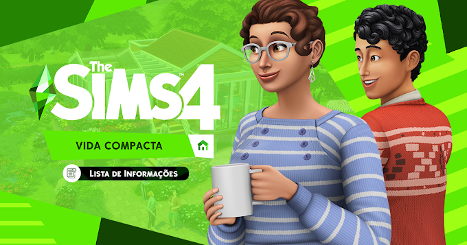 The Sims 4: Vida Compacta (Tiny Living Stuff Pack) V1.61.15.1020 + TODAS AS DLCs  + Crack + Tradução (REPACK - TORRENT)