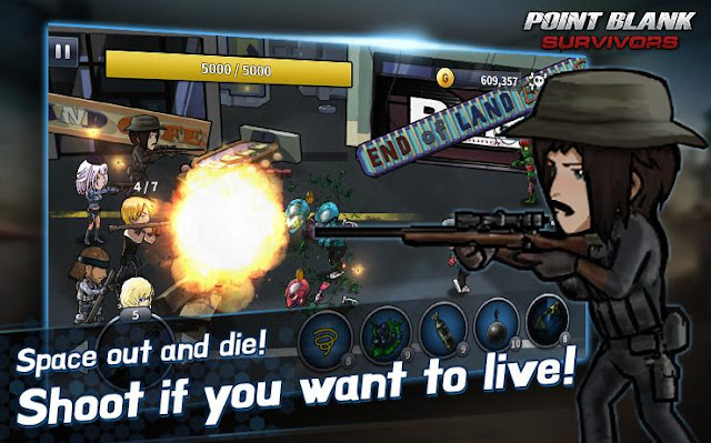 PointBlank Android Survivors v0.99 Mod Apk