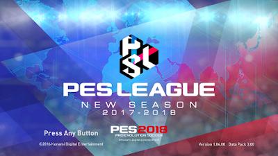 PES 2017 PES 2018 Graphic Theme ( PES League ) by Aldinov