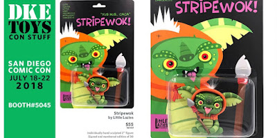 San Diego Comic-Con 2018 Exclusive Star Wars x Gremlins Stripewok Clay Figure by Little Lazies x DKE Toys