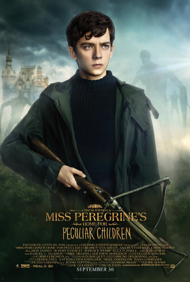 エイサ・バターフィールド Miss Peregrine's Home for Peculiar Children