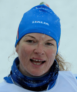 Francesca has excelled on skis too