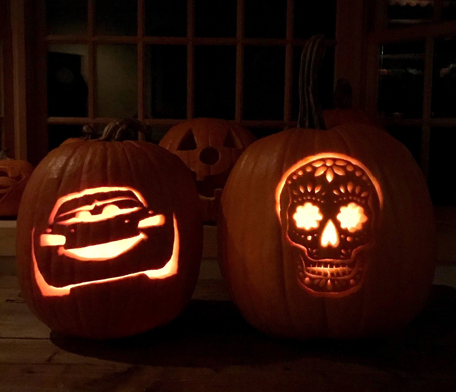 disney pixar themed pumpkin carving