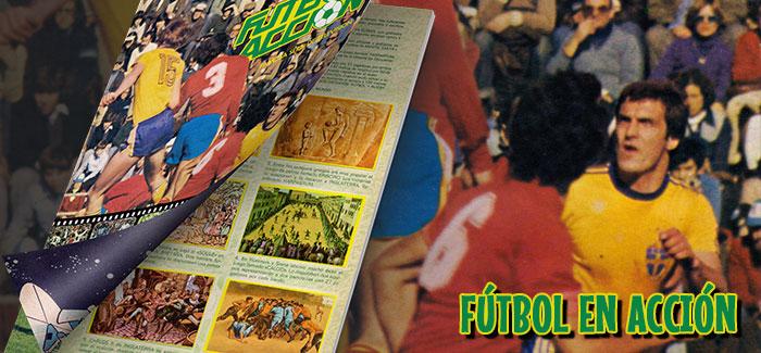 Álbum Fútbol en acción Danone 1982